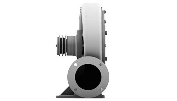Belt-Driven High Pressure Blower without Motor