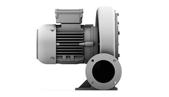 High Pressure Blower with Frequency Converter