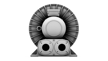 Side Channel Blower with Frequency Converter