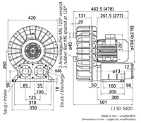 SD 5400-50